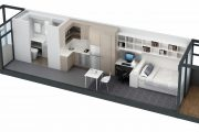 ABC News: Compact Living (ANU Modular Student Accomodation)