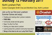 Lyneham Summer Soiree, 12 February