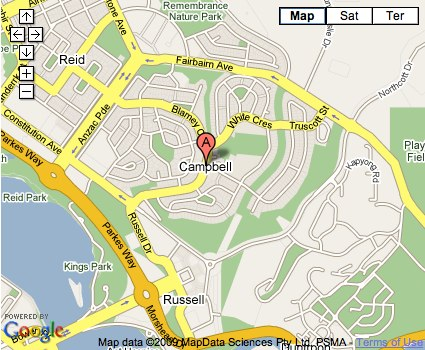 Location Map for Campbell