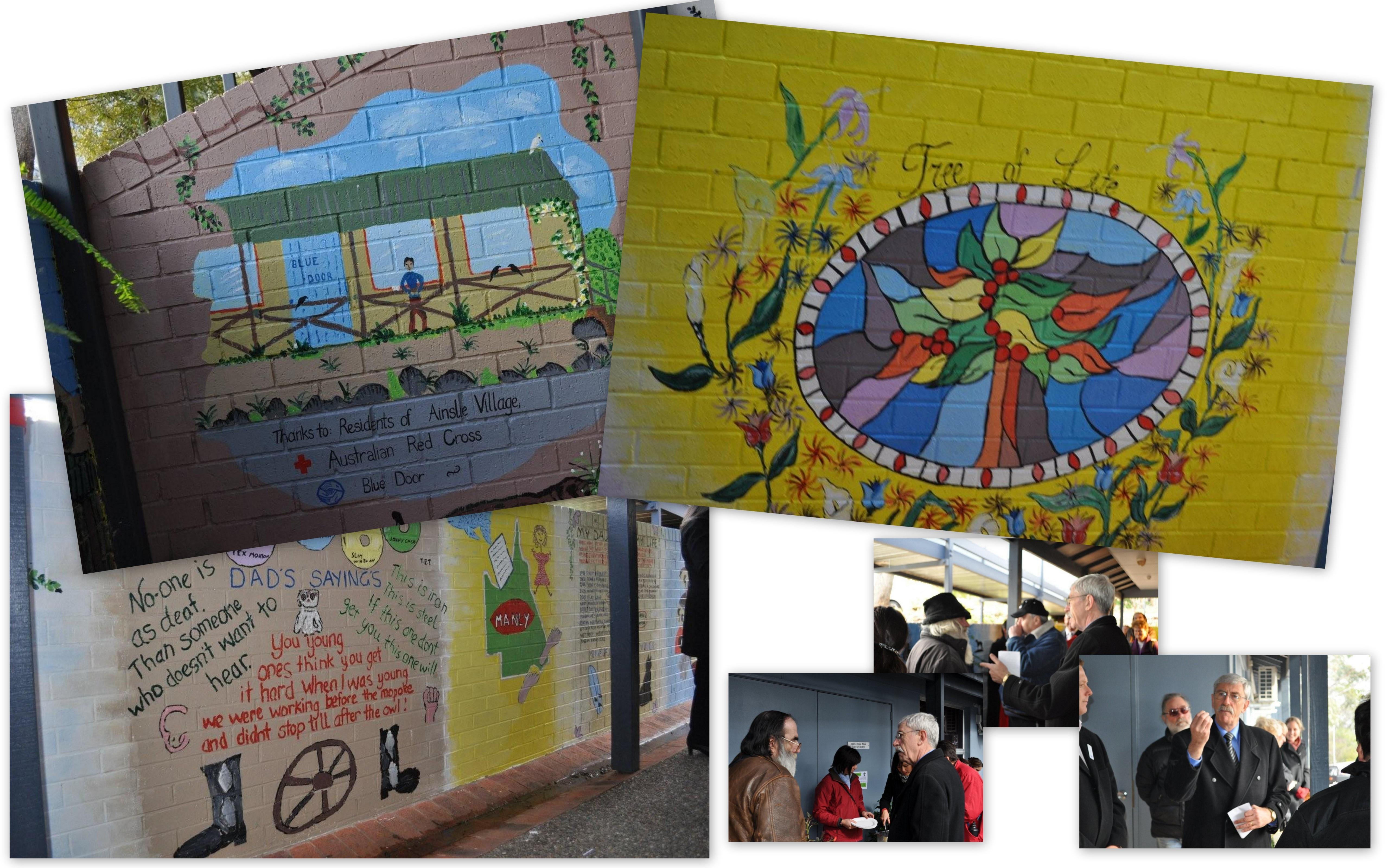 Ainslie Village Mural