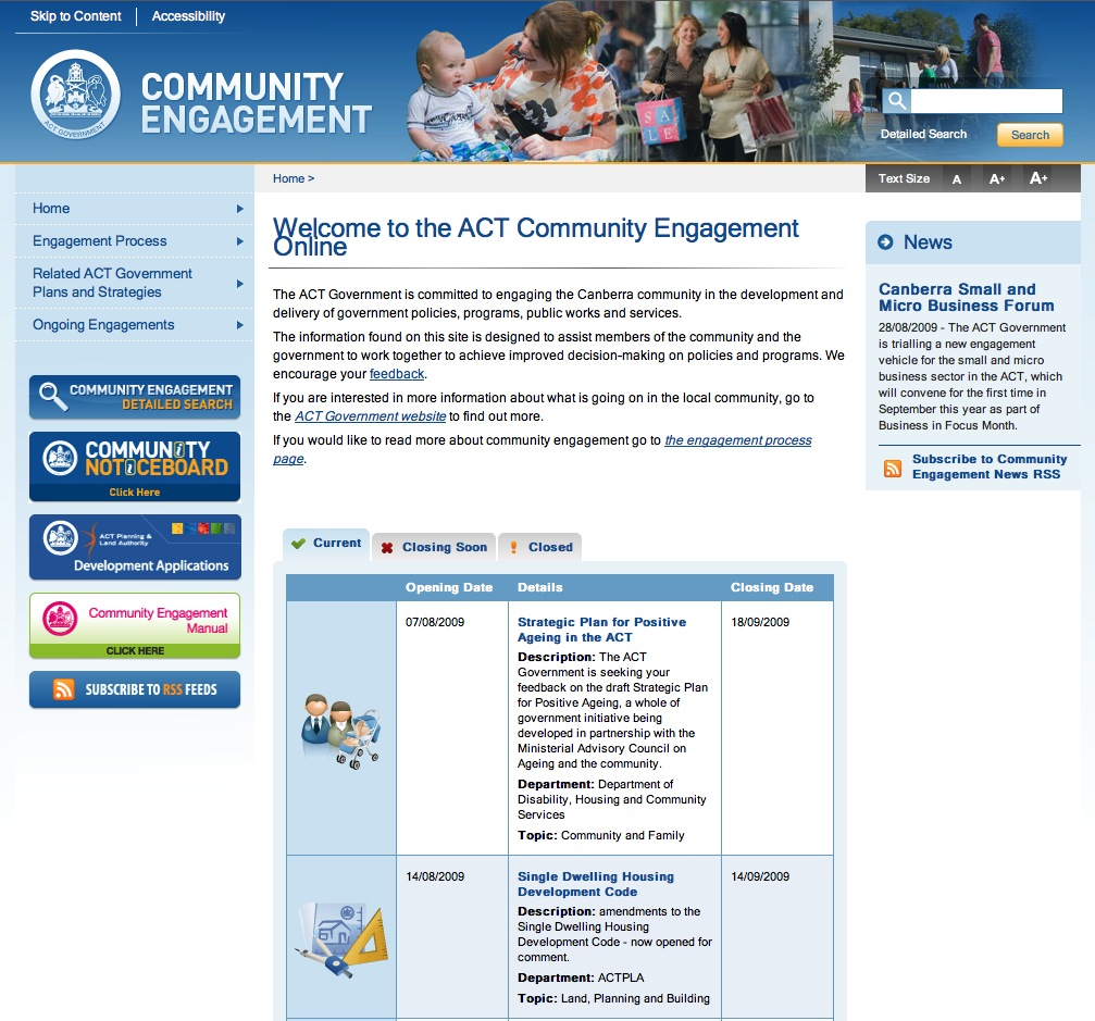 Community Engagement Online