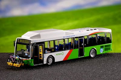 Model of an ACTION bus