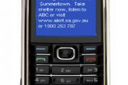 ABC News: SMS bushfire warnings to be trialed (17 December 2009)