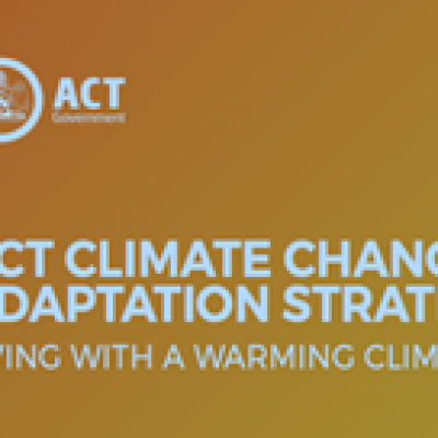 Climate Change Strategy Unfolds