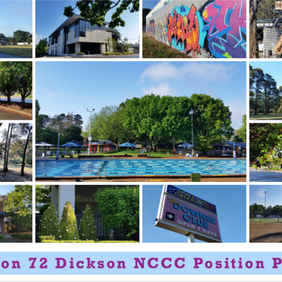 Section 72 Dickson -  NCCC Advocates for Community/Cultural Use