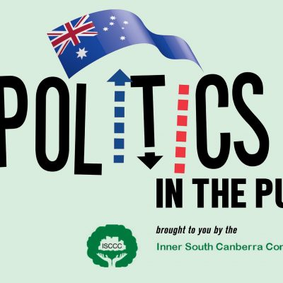 Politics in the Pub: Federal Candidates Forum – 5 May