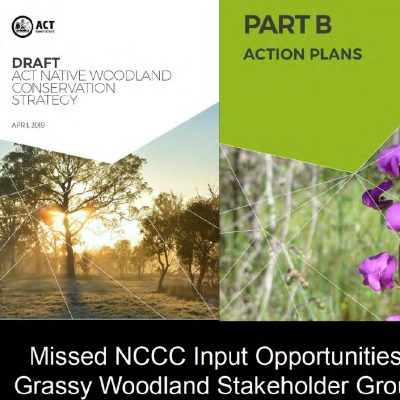 Grassy Woodland Stakeholder Group - Presentation