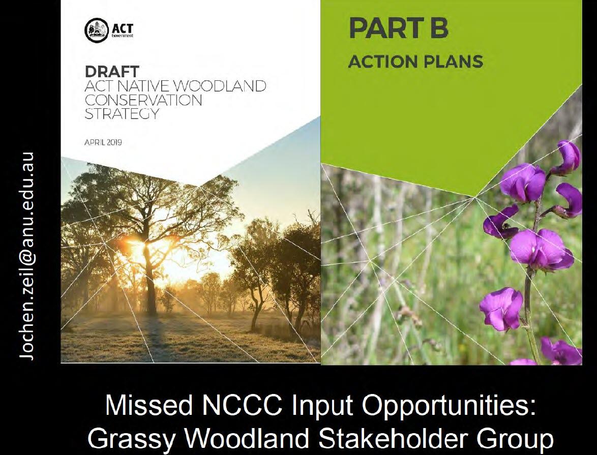 Grassy Woodland Stakeholder Group - Presentation